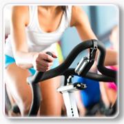 indoor cycling fahrrad fahren fitness training
